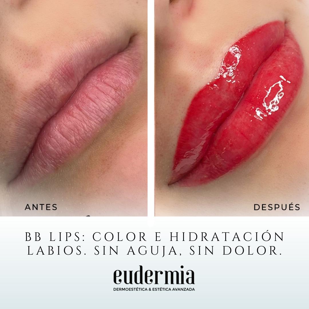Hidratación de labios